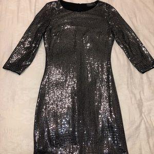 Dress Forum Los Angeles Metallic Bodycon Dress